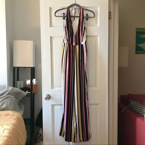 Urban Outfitters Pants - Urban Outfitters - NWOT Plunging Flare Jumpsuit